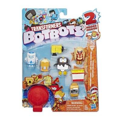Transformers Botbots Fase 1 - Kit com 8 Personagens - Hasbro