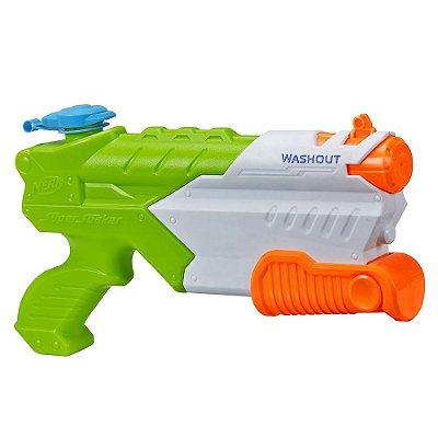 Lançador de Água Nerf Super Soaker Washout - Hasbro