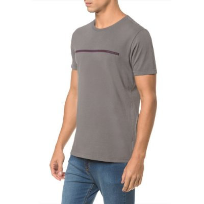 Camiseta Masculina Nice - Cinza - Calvin Klein