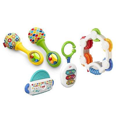 Conjunto Pequenos Músicos - 5 Peças - Fisher-Price