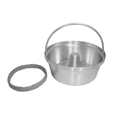 Forma de Pudim e Legumeira para Panela de Pressão - 1,8 L - Nigro