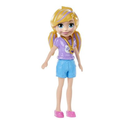 Polly Pocket - Polly Pocket - Camiseta Lilás e Short - Mattel