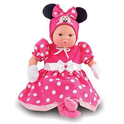 Boneca Classic Recém-Nascida Minnie Mouse - Roma