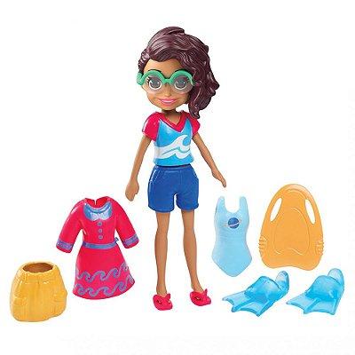 Polly Pocket - Shani Atleta de Natação - Mattel