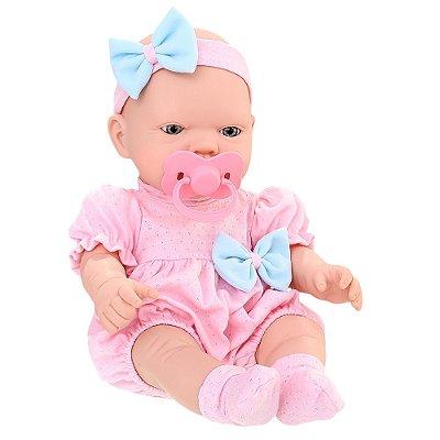 Boneca Bebezinho Real Primeiros Cuidados - Roma
