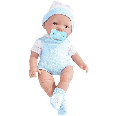 Boneco - Bebezinho Real Primeiros Cuidados - Roma