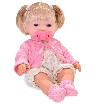Boneca Bebezinho Real Xixi - Roma