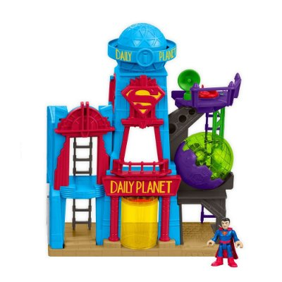DC Super Friends - Metrópole - Daily Planet - Imaginext