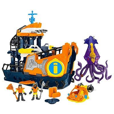 DC Super Friends - Navio Comando do Mar - Imaginext