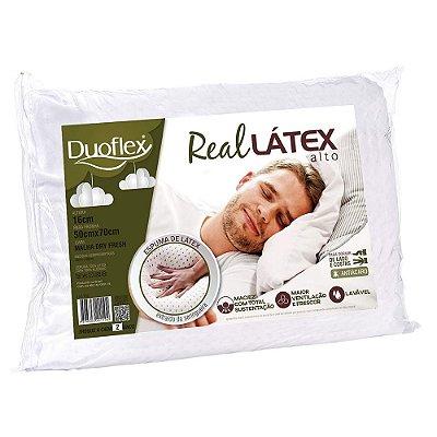 Travesseiro Real Látex Alto - Duoflex