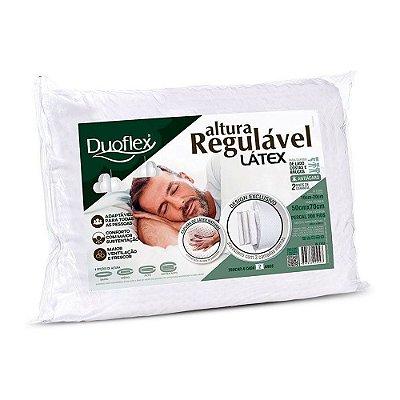 Travesseiro Altura Regulável Latéx - Duoflex