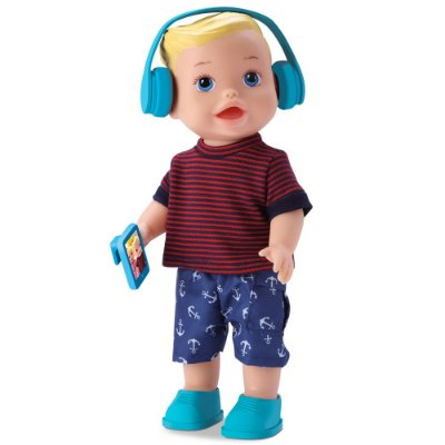 Boneco My Little Collection  Boy Loiro - Diver Toys