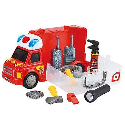 Workshop Júnior Truck - Caminhão de Bombeiro - Multikids