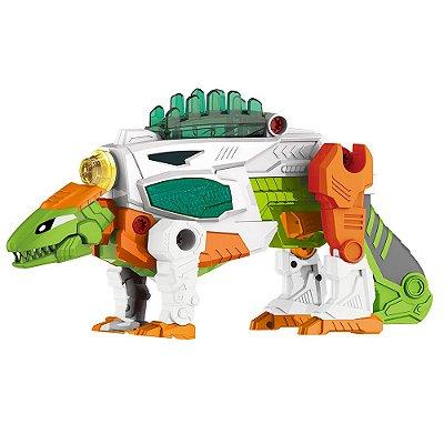 Changers 3 em 1 - Dino Velociraptor - Multikids