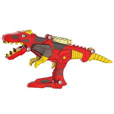 Changers 3 em 1 - Dino Rex - Multikids