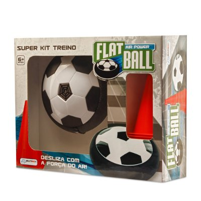 Super Kit Treino Flat Ball Air Power - Multikids