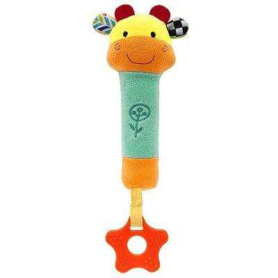 Buzininha com Mordedor Happy Zoo - Girafa - Buba