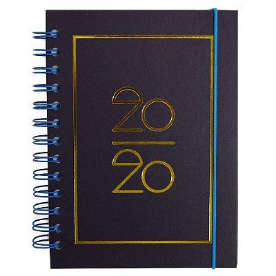 Agenda Diária Basic 2020 - Azul Escuro - Interponte