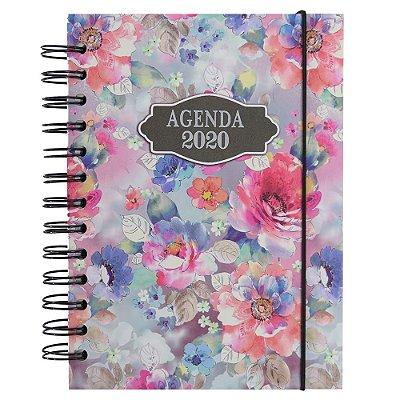 Agenda Diária 2020 - Floral - Interponte