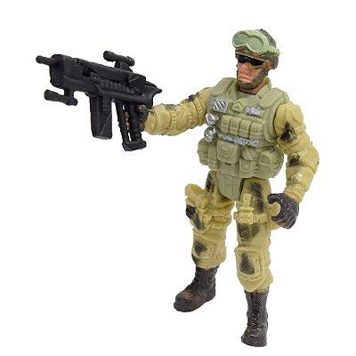Boneco Comando Militar - HK Hump - Buba