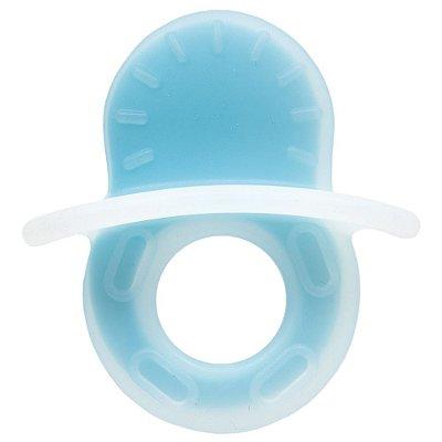 Mordedor Chupeta Texturizado - Azul - Buba
