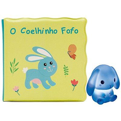 Kit Livrinho de Banho Coelhinho com Luz - Buba
