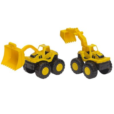 Tractor Collection Game Line - Carregadeira e Escavadeira - BS Toys