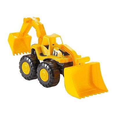 Tractor Retroescavadeira - BS Toys