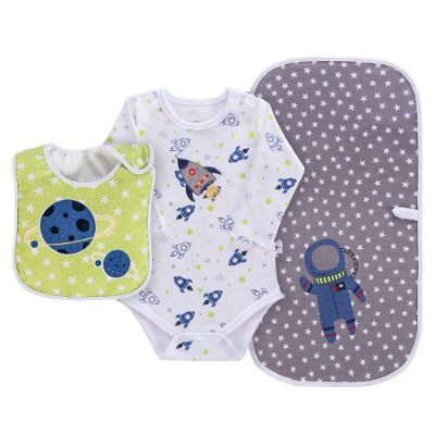 Baby Kit Presente - Astronauta - 3 Peças - Colibri