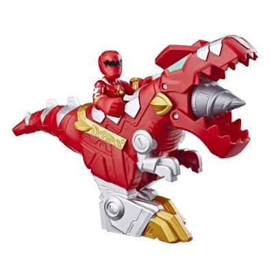 Power Rangers - Red Ranger & T-Rex Zord - Hasbro