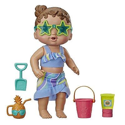 Baby Alive - Bebê Sol e Areia - Hasbro