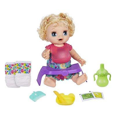Baby Alive Bebê Comidinha Feliz - Hasbro