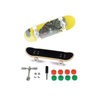 Skate de Dedo - Extremo e Radical - Amarelo - DTC
