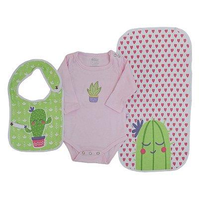 Baby Kit Presente - Cactos - 3 Peças - Colibri