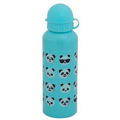 Garrafa de Alumínio Pandas 500 ml - Azul Claro - Interponte