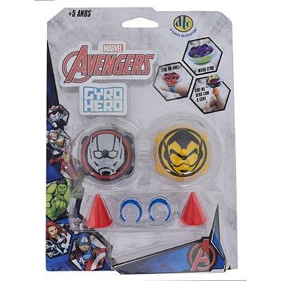 Gyro Hero Marvel Avengers - Homem-Formiga e Vespa - DTC