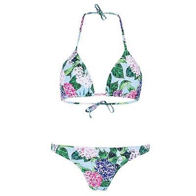 Biquíni Oceanic Cortininha - Floral - New Beach
