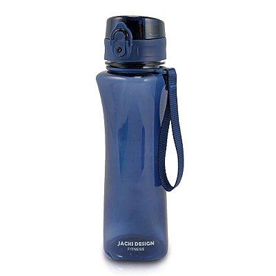 Garrafa Squezze Fitness 550 ml - Azul - Jacki Design