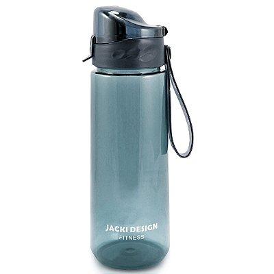 Garrafa Squezze Fitness 1,2 L - Azul Escuro - Jacki Design