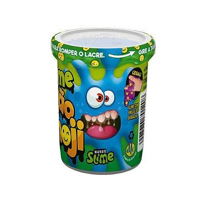 Slime Ecão Emoji - Azul - 110G - DTC