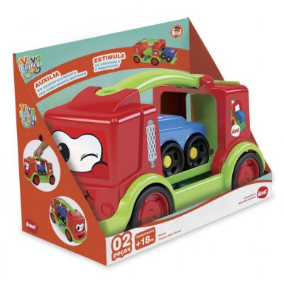 Caminhão Transcar Baby - Vermelho - Dismat