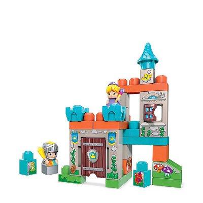 Mega Bloks - Palácio das Princesas - 30 Peças - Mattel
