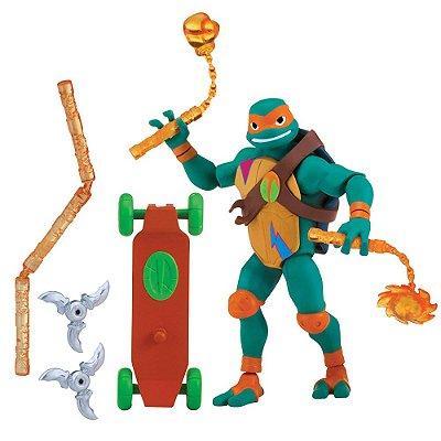 Boneco Michelangelo - Tartarugas Ninjas - Sunny