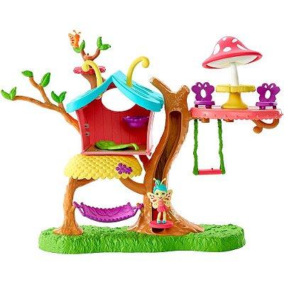 Enchantimals Casa Butterfly - Baxi Butterfly e Wingrid - Mattel