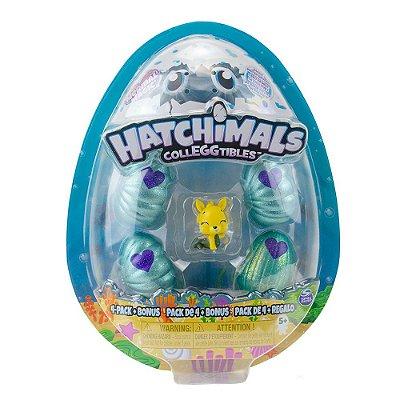 Hatchimals Fundo do Mar Mágico - 4 ovos - Sunny
