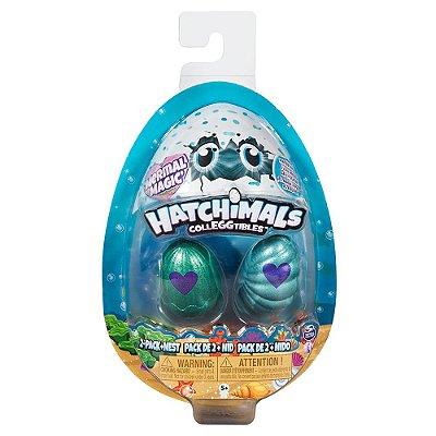 Hatchimals Fundo do Mar Mágico - 2 ovos - Sunny