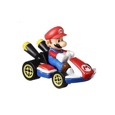 Hot Wheels Mario Kart - Mario Standard Kart - Mattel