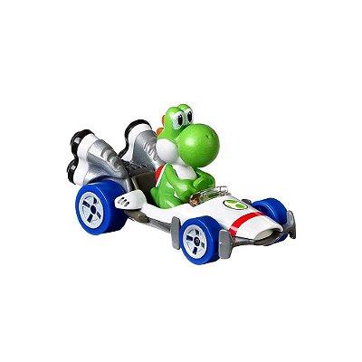 Hot Wheels Mario Kart - Yoshi B Dasher - Mattel