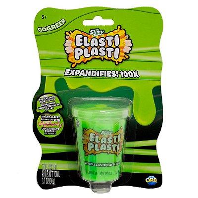 Slime Elasti Plasti - Verde - Sunny