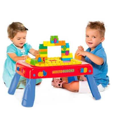 Baby Land Mesinha Criativa Molto Blocks - Cardoso